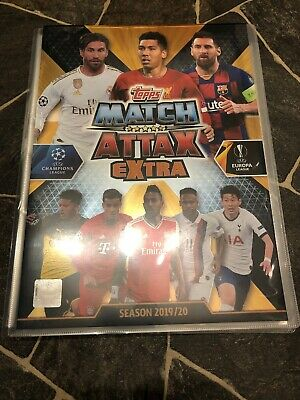 Match Attax Extra 2019/20 Empty Binder + 171 Cards All Different Mint