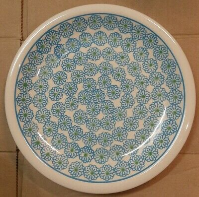 "Boleslawiec  Polish Pottery 9 1/2""  Round Dinner Plate- New Free U.S. shipping"