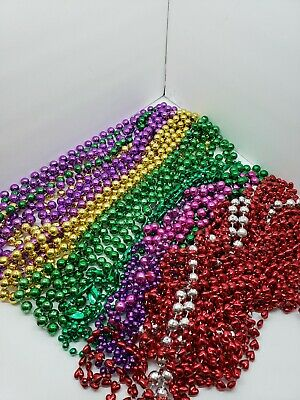 Mardi Gras Beads Necklaces lot  Authentic New Orleans 30+ assorted