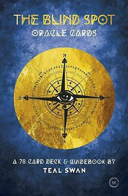 The Blind Spot Oracle Cards: A 78 Card Deck & Guidebook by Teal Swan Free Shippi