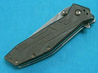 Kershaw Kai 1990 Brawler Tanto Lockback Folding Survival Knife Knives Pocket Old