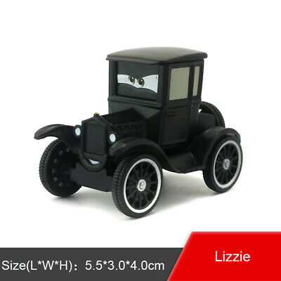 Disney Pixar Cars Lizzie Diecast Metal Toy Model Car 1:55 Boys Kids Gift New