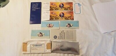2 NEW  Walt Disney World EPCOT Center Special Edition opening day Tickets