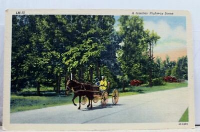 Scenic Highway Postcard Old Vintage Card View Standard Souvenir Postal Post PC