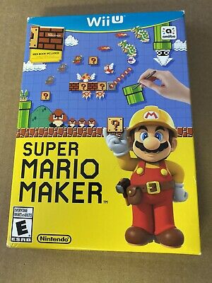 Super Mario Maker Bundle (Nintendo Wii U, 2015) complete free shipping