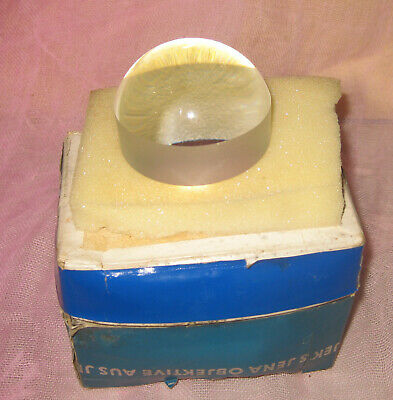 Alte DDR Zeiss Jena Visolett - Lupe  ohne Ring 1,8 fach in desolater OVP !