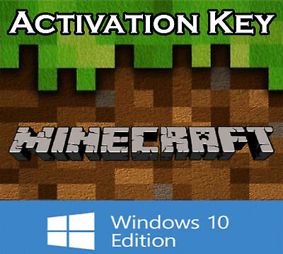 Minecraft Windows 10 Edition Activation Key | Region Free