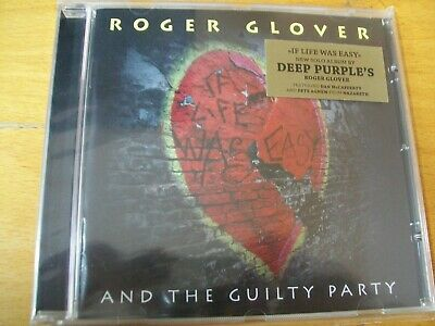 Roger Glover And The Guilty Party If Life Was Easy Cd Mint-
