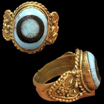 Rare Ancient Phoenician Stone Ring 300Bc Super Quality (3)