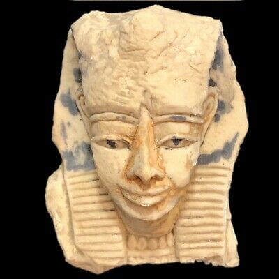 Egyptian Bust Statue, Late Period 664 - 332 Bc (1)