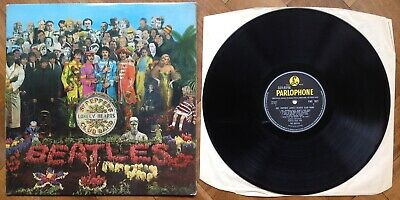 "The Beatles ""SGT Peppers Lonely Hearts Club Band"" Original Vinyl LP Mono PMC7027"