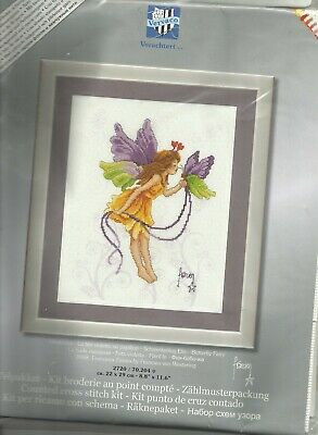 Vervaco/Verachtert   Cross stitch kit Francien Butterfly Fairy 2720.70.204