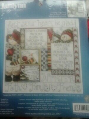 Janlynn   Cross stitch kit -Winter 080-0485 NIP