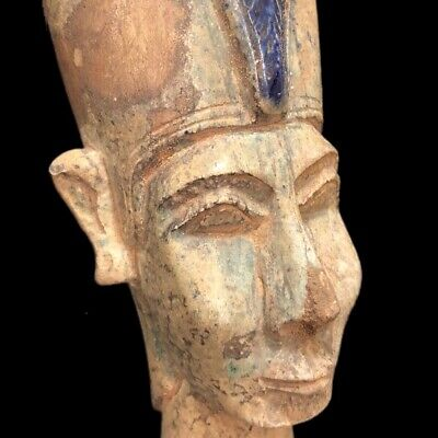 Egyptian Bust Statue, Late Period 664 - 332 Bc (4)