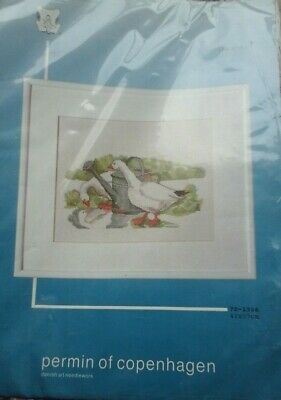 Permin - Cross stitch kit Two Geese 70-1336 NIP