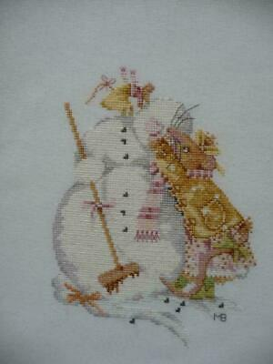 Lanarte Completed Cross Stitch Marjolein Bastin Vera de Muis Winter