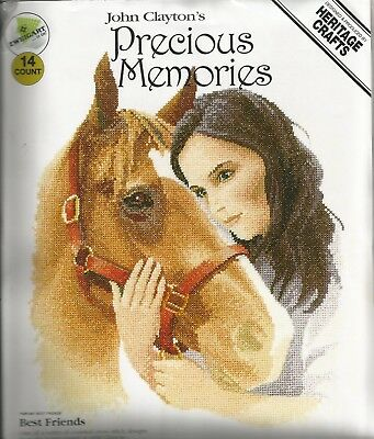 Heritage Cross stitch kit John Claytons's Best Friends PMBF897