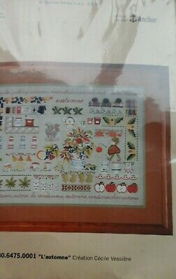Royal Paris Cross stitch kit Autumn 9880.6475.0001 NIP