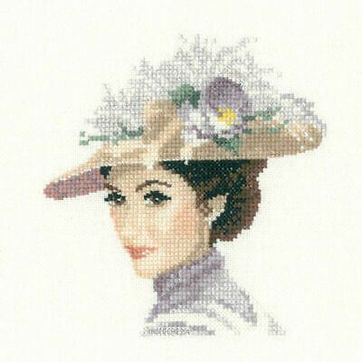 Heritage Cross stitch kit John Claytons's Elegance Collection Rebecca JLRE996