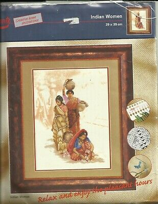 Lanarte- Vintage  X-kit  Indian Woman 34760 OOP