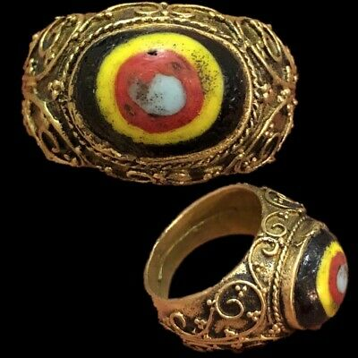 Rare Ancient Phoenician Stone Ring 300Bc Super Quality (11)