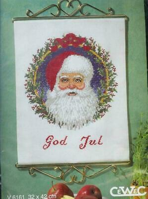 Cewec  Cross stitch kit Christmas God Jul V6161