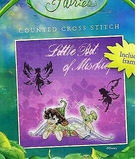 Anchor Disney Faries   X-kit Little bit of Mischief incl. frame NIP