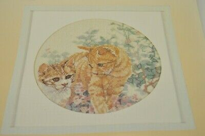 Lanarte- Vintage  X-kit 2 Cats by Delma nr. 33569  OOP