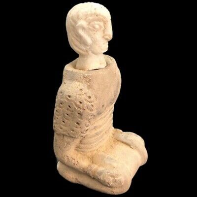 Rare Ancient Western Asiatic Bactrian Stone Pictorial Idol 300 Bc (3)