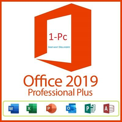 🔥ms office 2019 professional plus ⚡Fast Delevery⚡(20sec)Paypal 1Pc License Key✅
