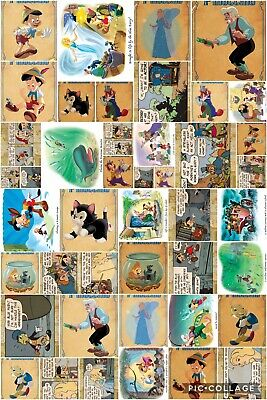 Topps Disney Collect Pinocchio Anniversary 44 Cards - All Sets
