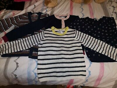 girls cardigans and jumper bundle La Redoute age  6 years