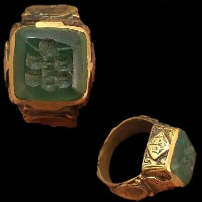 Stunning Top Quality Intaglio Seal Stone Ring (6)