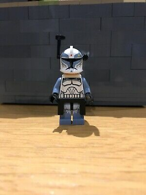 LEGO Star Wars Minifigures Figures WolfPack Clone Commander Wolffe 7964 Head