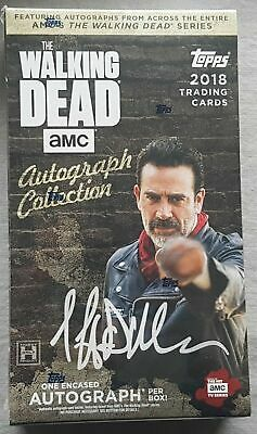 Topps the Walking Dead Autograph Collection Hobby Box 2018 1 Encased Autograph