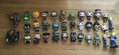 Lot Of Over 30 Funko Pop Figures Loose Vaulted Retired