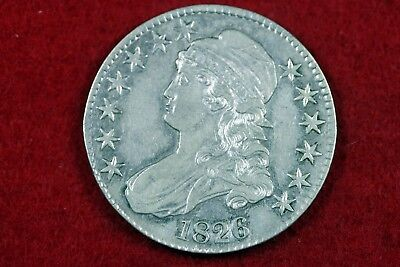 ESTATE FIND 1826 - Capped Bust Half Dollar!!  #H13185