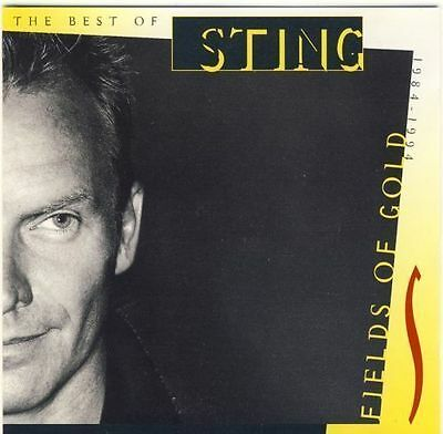 Sting - The Best Of 1984-1994 Fields Gold # Cd # The Police # Very Greatest Hits