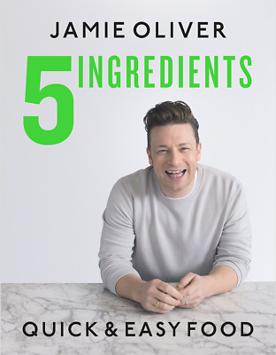 5 Ingredients Quick & Easy Food by 🔥Jamie Oliver [ P.D.F & E.P.U.B]