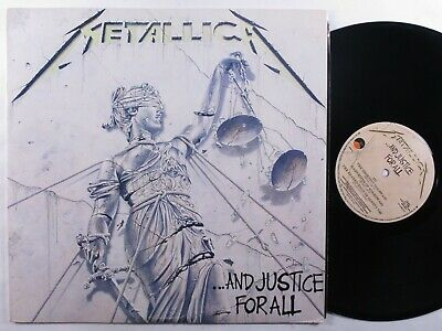 METALLICA ...And Justice For All ELEKTRA 2XLP <