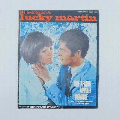 Lucky Martin n°3 de 1968 ♦ Anne Heywood ♦ Virginia de Leyva ♦ Kennedy ♦ Mode