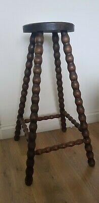 Antique Original Tall Bobbin twist Stool
