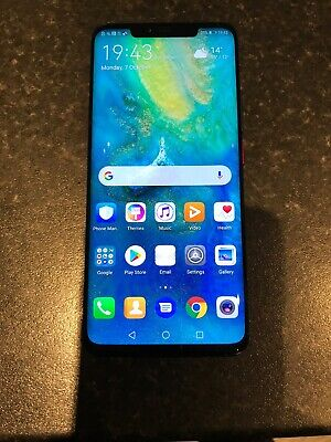 Huawei mate 20 Pro 128GB Blue unlocked android smartphone