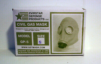 Original (NBC) Evirstar GP5 Defense Gas Mask - Size Small