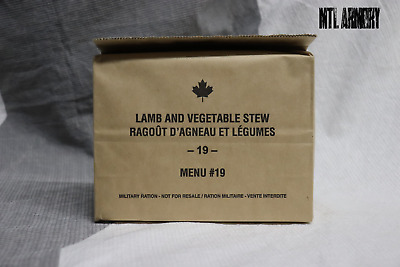 #19 Canadian Army Rations IMP MRE 2019 (Meals Ready-to-eat)