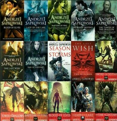 The Witcher Complete Series Andrzej Sapkowski include P.D.F,  EPUB, Audio book