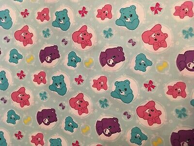 Care Bears baby toddler sheets set arrows light blue