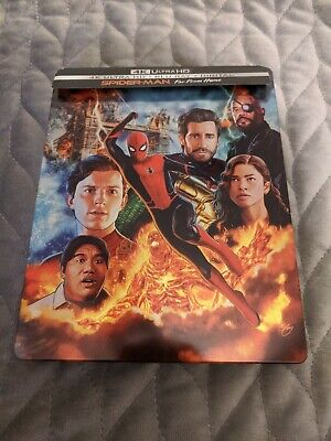 Spider-Man: Far from Home Steelbook (4K Ultra HD + Blu-ray + Digital, 2019)
