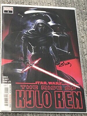 (Marvel) Star Wars: The Rise Of Kylo Ren #1 1St Print (Signed By Will Sliney)