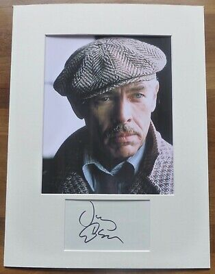 JAMES COBURN-Hand Signed Card is Presented With A Photo-Mounted & Matted,COA